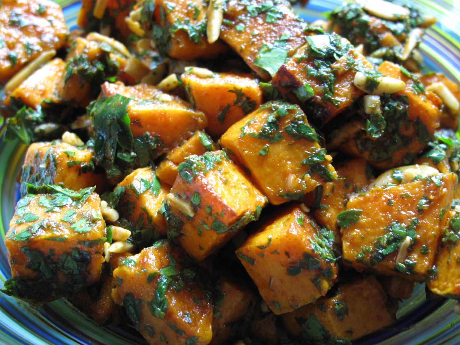 Moroccan sweet potato salad   Laura b. Russell
