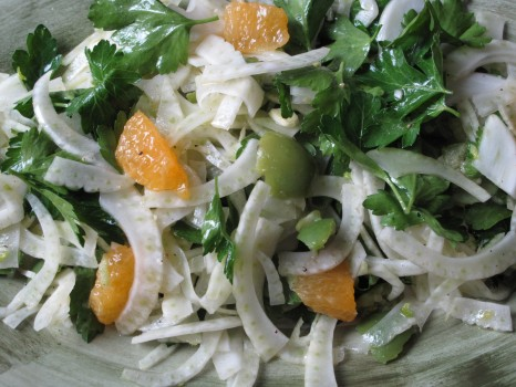 Spaghetti Squash, Shaved Fennel And Warm Apple Salad Recipes ...